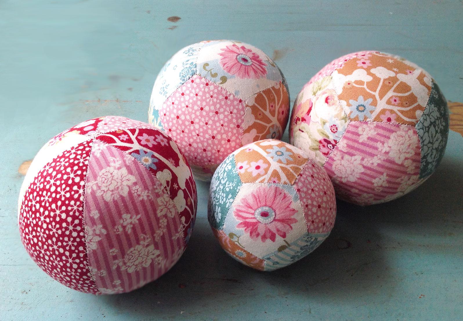 Paper-piece-ball