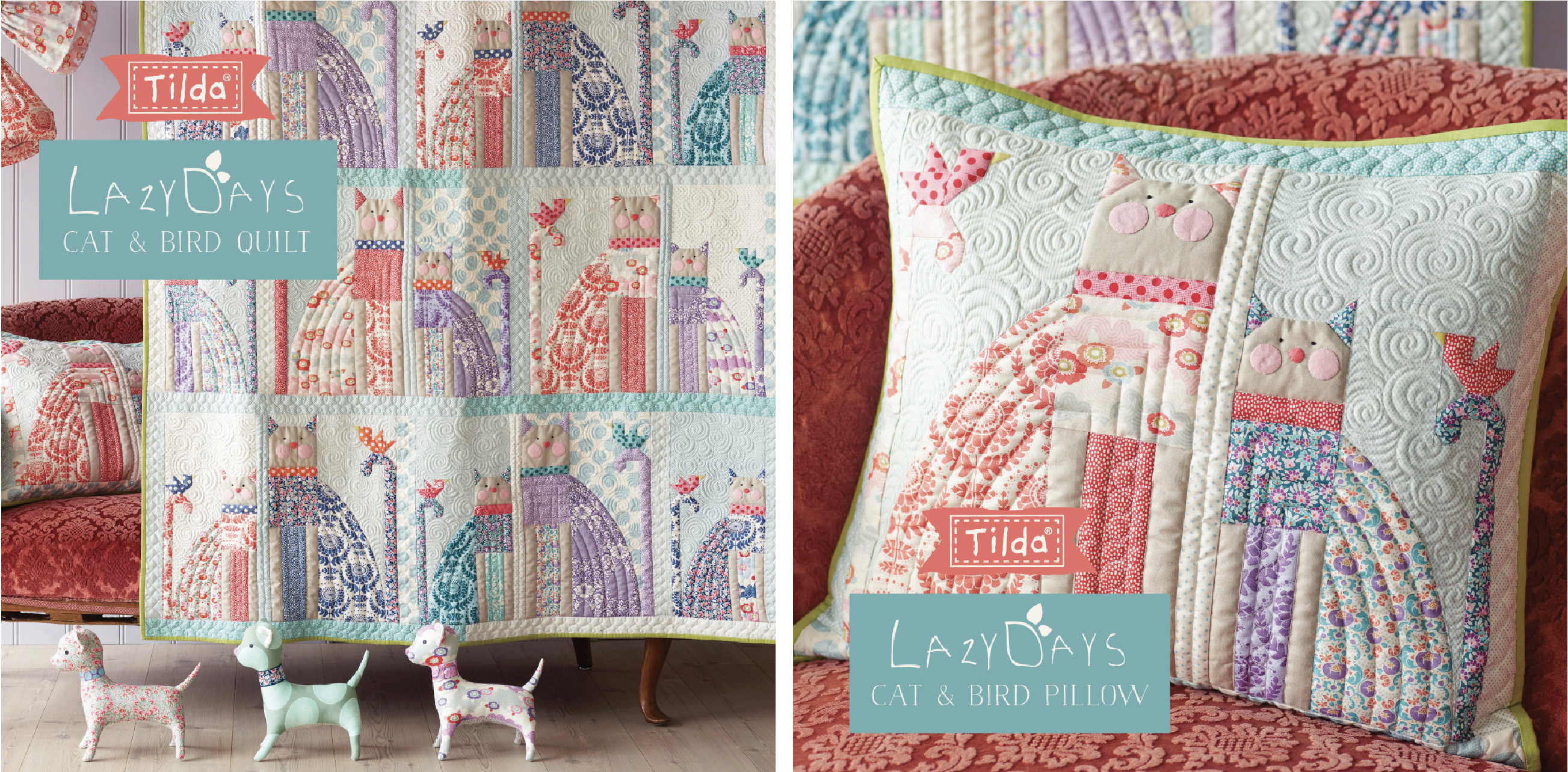 image about Free Printable Cat Quilt Patterns identify Patchwork and quilt Tildas Entire world