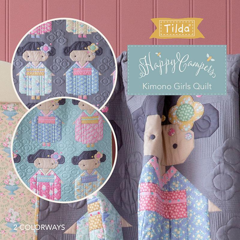 Kimono Girls Quilt