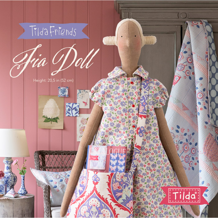 Tilda friends Fia Doll - Bambola