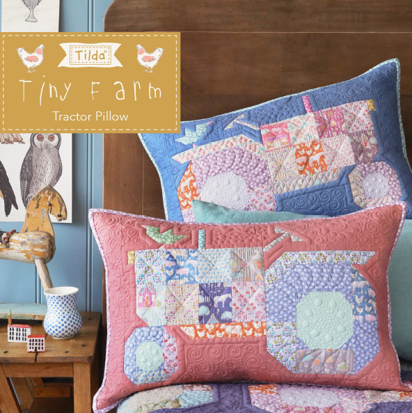 PATCH TRACTOR PILLOWS