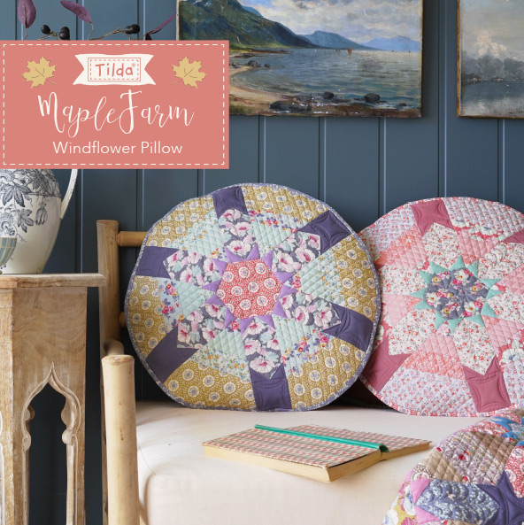 Windflower Pillows