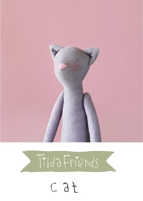 Tilda Friends CAT - Gatto Tilda