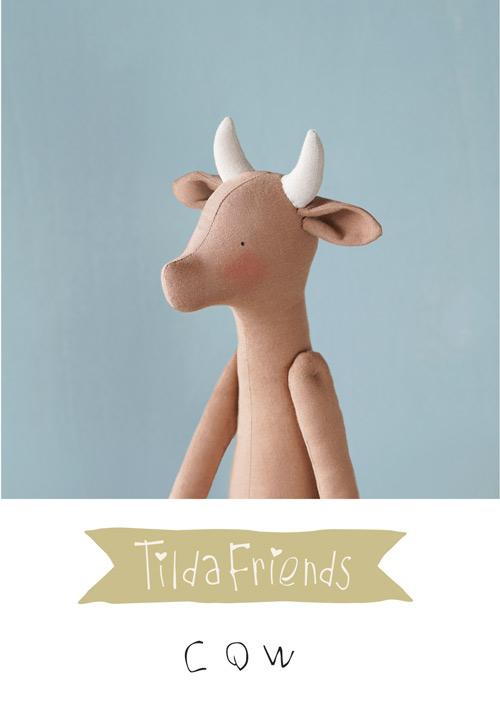 Tilda Friends COW - Mucca Tilda