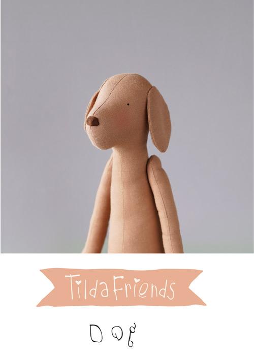 Tilda Friends DOG - Cane Tilda