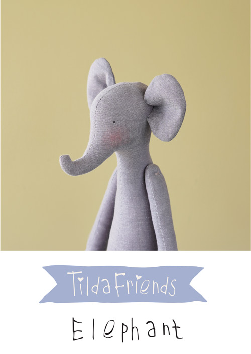 Tilda Friends ELEPHANT - Elefante Tilda