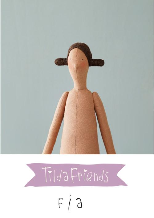 Tilda Friends FIA - Bambola Tilda