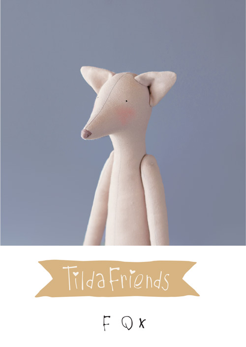 Tilda Friends FOX - Volpe Tilda