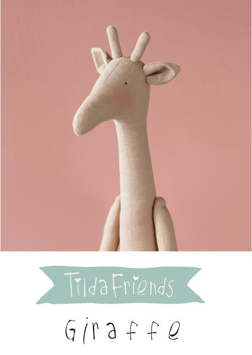 Tilda Friends GIRAFFE - Giraffa Tilda