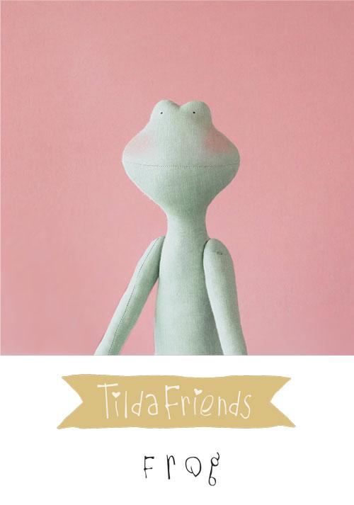 Tilda Friends FROG - Rana Tilda