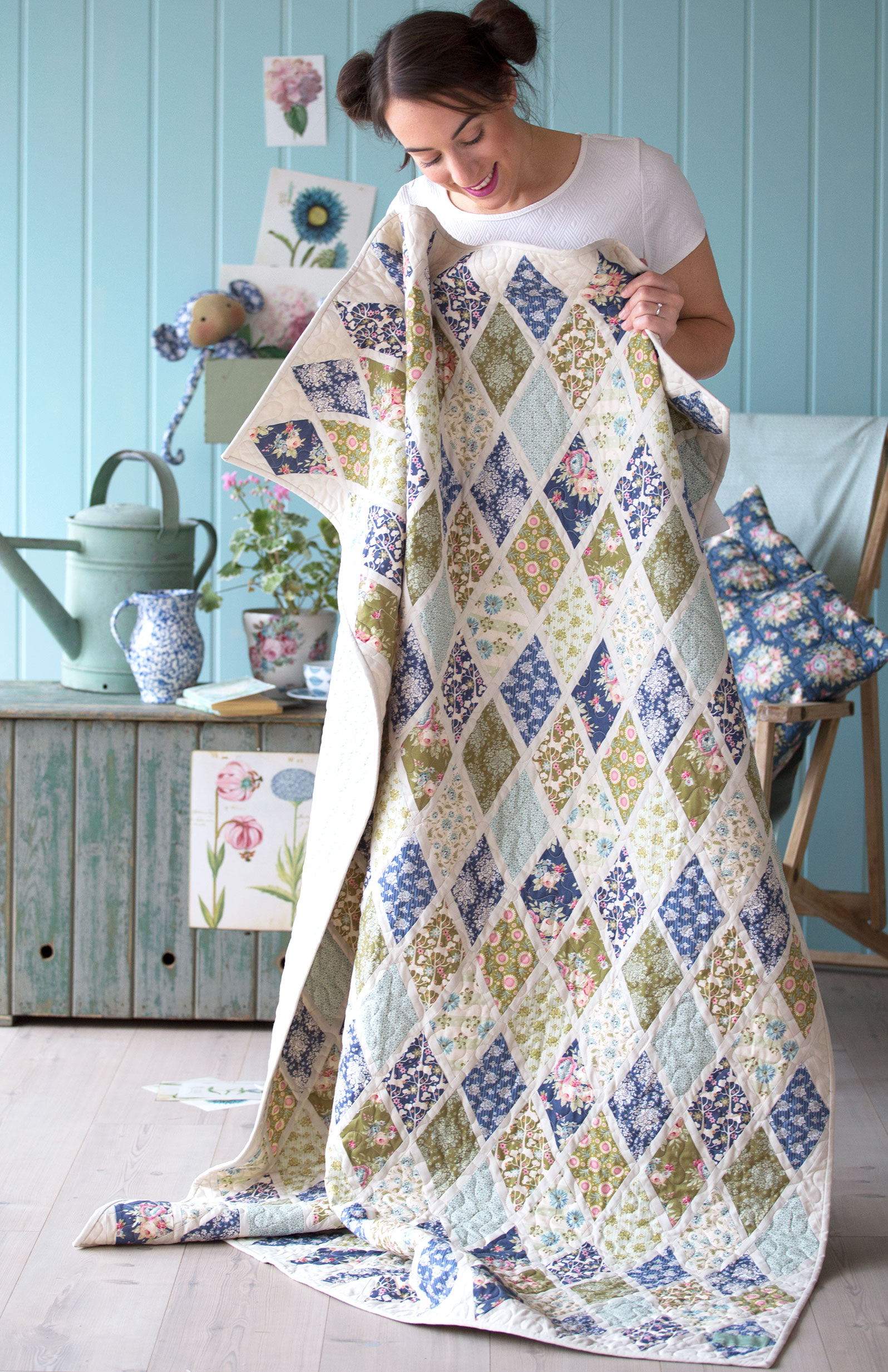 Fons and Porter's Love of Quilting Magazine Nov/Dec 2015 Cozy Winter Patterns