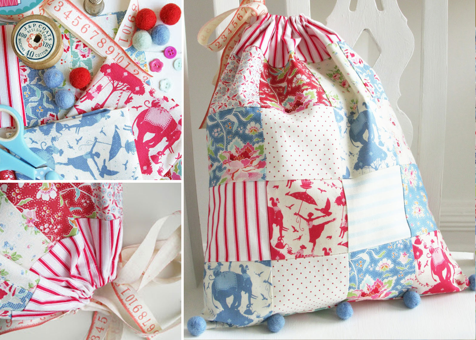 Helen-Philipps-Patchwork-Drawstring-Bag